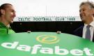 Celtic ký hợp đồng tài trợ áo đấu lớn nhất lịch sử với công ty cá độ Dafabet