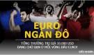 Vui cùng Euro 2016: Dự đoán 6 đội đầu bảng và nhận thưởng cực khủng!