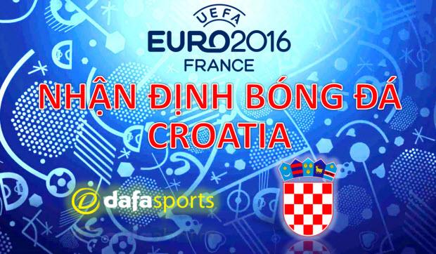 Kèo bóng đá Euro 2016: Nhận định cơ hội ĐT Croatia