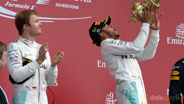 """Nico Rosberg: """"Những đợt sóng"""" từ Lewis Hamilton đã đến lúc chấm dứt"""