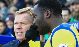 Everton Lukaku tri ân thầy HLV Ronald Koeman