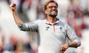 Liverpool Klopp tự tin cho một tấm vé dự Champions League