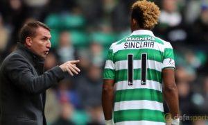 Celtic: Sinclair kỳ vọng vào HLV trưởng Brendan Rodgers