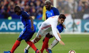 Alvaro Morata vui mừng khi gia nhập Chelsea