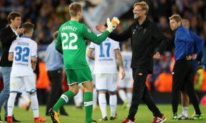 Jurgen Klopp vui mừng vì tiến bộ của Liverpool tại Champions League