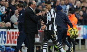 Perez hạnh phúc với vai trò trên hàng công Newcastle