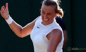 Petra Kvitova tham vọng giữ vững phong đội