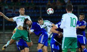Northern Irelands Josh Magennis - San Marino v Northern Ireland - 2018 FIFA World Cup Qualifying