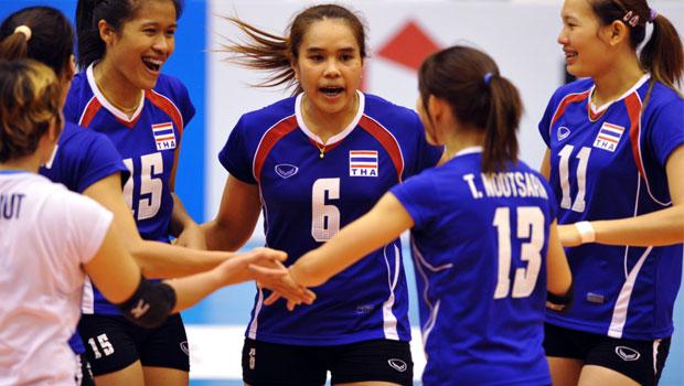 thailand-women-volleyball-team