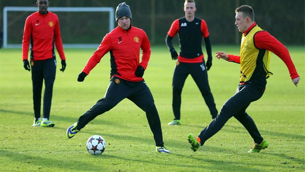 Manchester-United-Training-for-champions-league