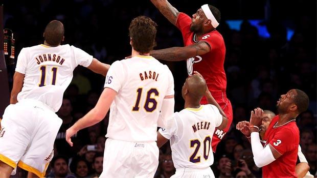 Miami-Heat-v-LA-Lakers