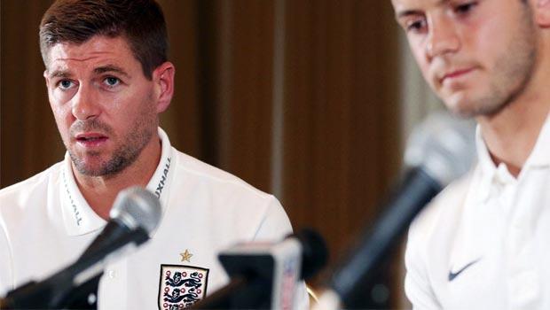 Steven-Gerrard-and-Jack-Wilshere-England