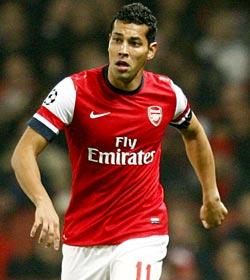 Andre Santos-Arsenal