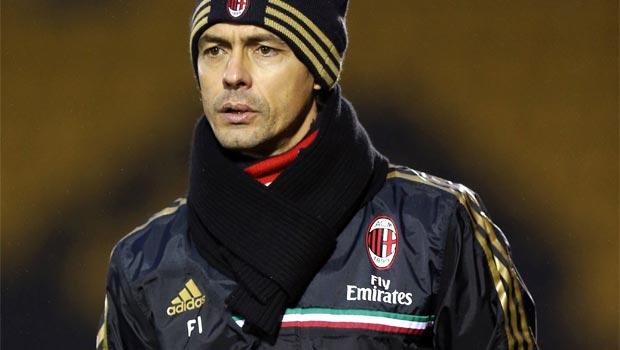 Filippo-Inzaghi-coach-AC-Milan
