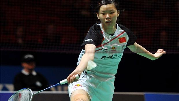 Li Xuerui -badminton-Malaysia-Open-2014