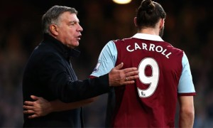 West-Ham-boss-Sam-Allardyce-and-andy-carroll