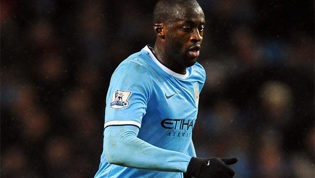 Tiền vệ Yaya Toure của Manchester City