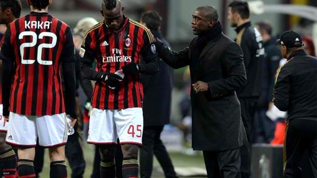 Huấn luyện viên Clarence Seedorf của AC Milan