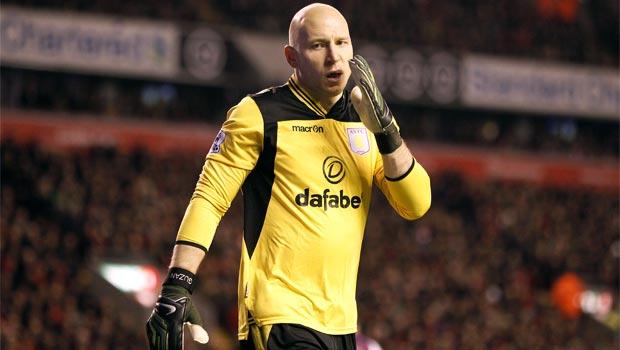 Aston Villa Brad Guzan