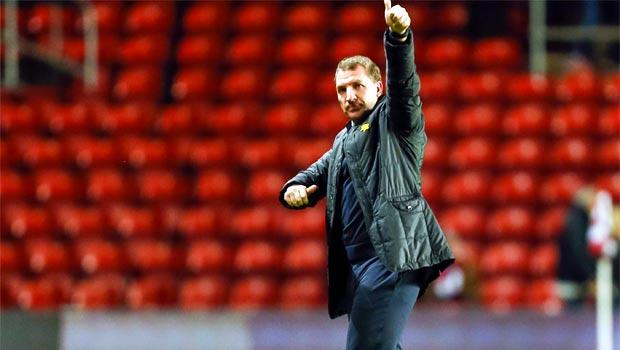 Huấn luyện viên Brendan Rodgers của Liverpool