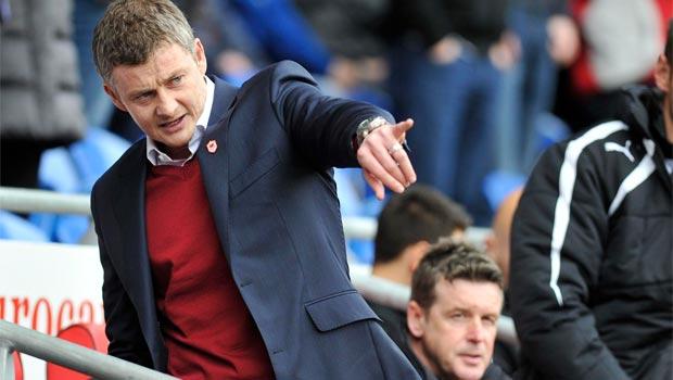 Huấn luyện viên Ole Gunnar Solskjaer của Cardiff City