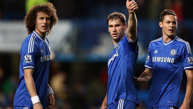 Ngôi sao David Luiz của Chelsea