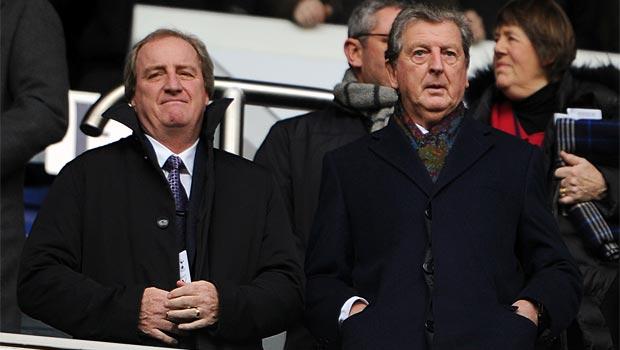Huấn luyện viên Roy Hodgson của đội tuyển Anh
