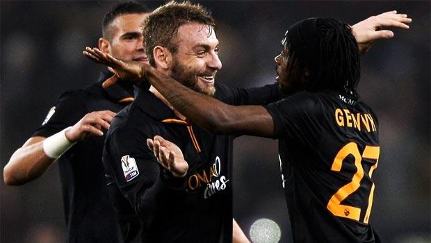 Gervinho AS Roma Team