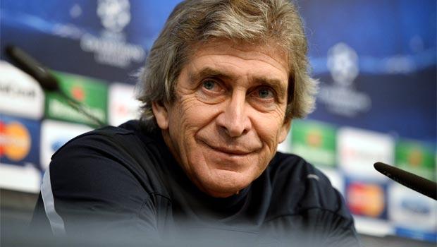 Manchester City Manuel Pellegrini - barcelona