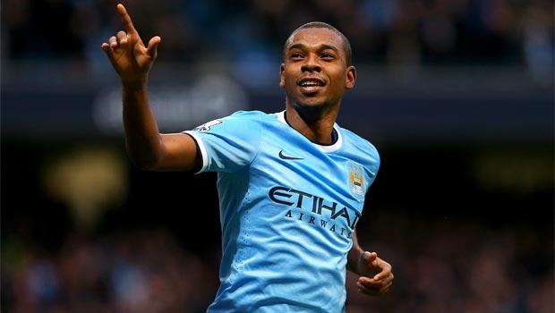 Ngôi sao Fernandinho của Manchester City