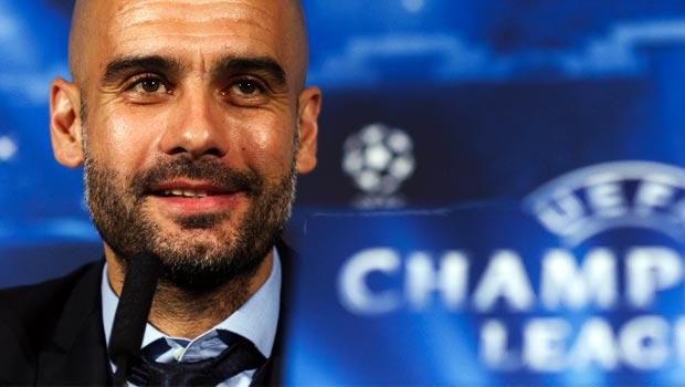 Huấn luyện viên trưởng Pep Guardiola của Bayern Munich