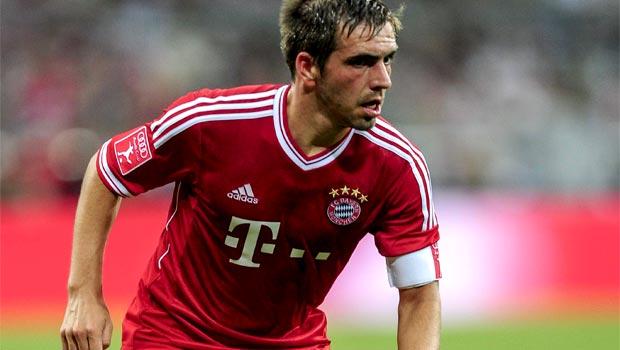 Đội trưởng Philipp Lahm của Bayern Munich