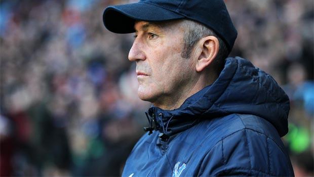 Huấn luyện viên Tony Pulis của Crystal Palace