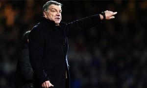 Huấn luyện viên Sam Allardyce của West Ham