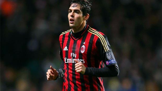 Tiền vệ Kaka của AC Milan