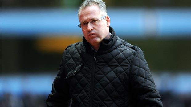 Huấn luyện viên Paul Lambert của Aston Villa