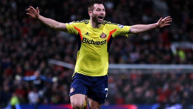 Hậu vệ Phil Bardsley của Sunderland