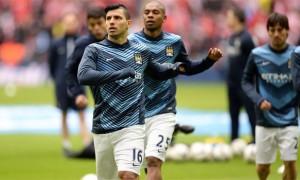 Tiền đạo Sergio Aguero của Manchester City