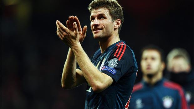 Thomas Muller Bayern Munich