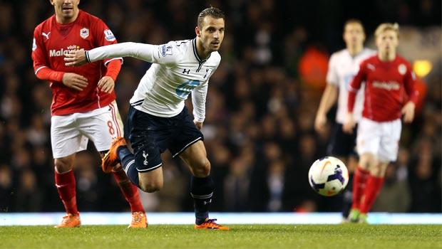 Roberto Soldado của Tottenham Hotspur