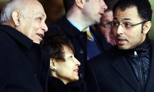 Hai ông chủ Assem và EhabAllam của Hull City