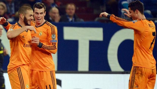 Bale Benzema Cristiano - Real Madrid Champions League
