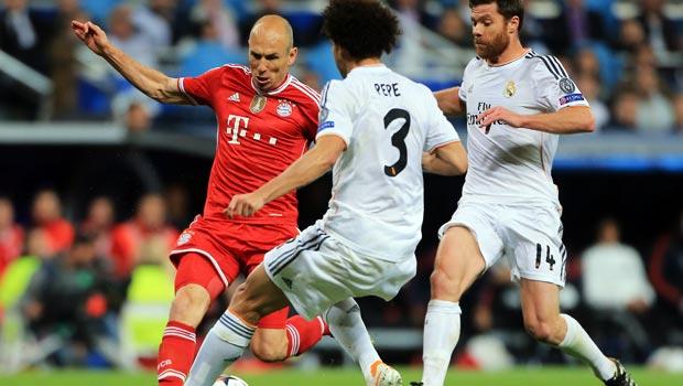 Ngôi sao ArjenRobben của Bayern Munich