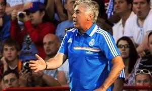 Huấn luyện viên Carlo Ancelotti của Real Madrid