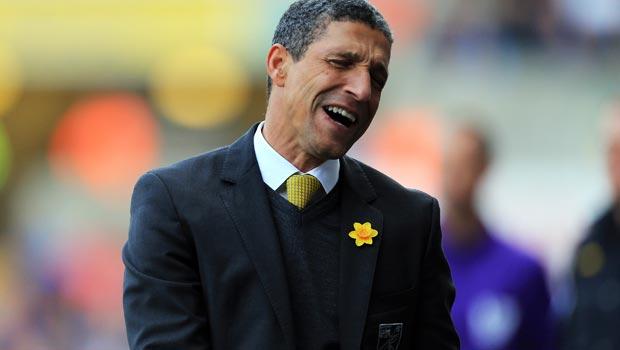 Cựu huấn luyện viên Chris Hughton của Norwich City