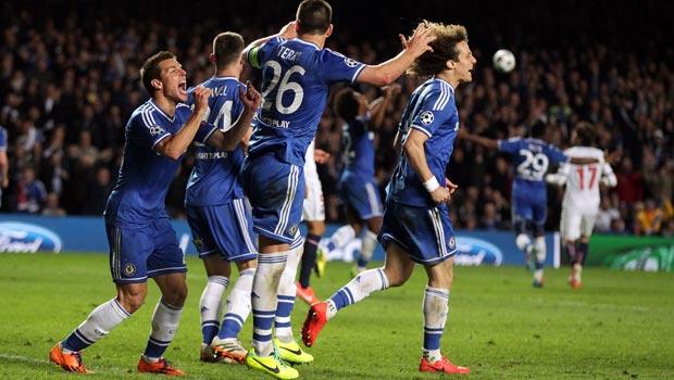 Hậu vệ David Luiz của Chelsea