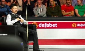 Ding Junhui Dafabet World Snooker Championship Bida