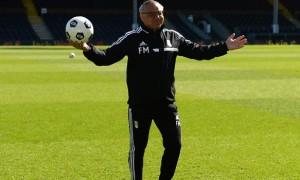 Huấn luyện viên Felix Magath của Fulham