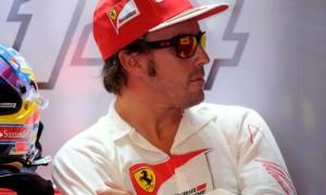 Fernando Alonso của đội đua Ferrari