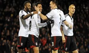 Tiền vệ Kieran Richardson của Fulham